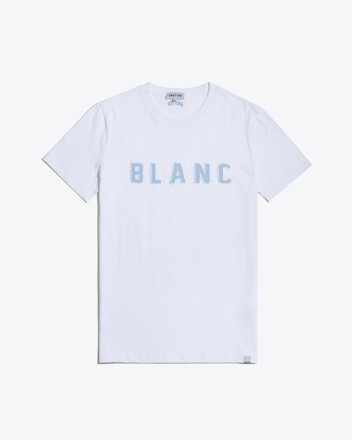 COLOR PATCH 1/2 T-SHIRTS (WHITE)